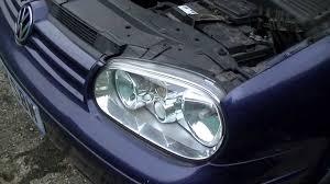 Vw Golf Jetta Mk4 Headlight Bulb Replacement 1999 2005