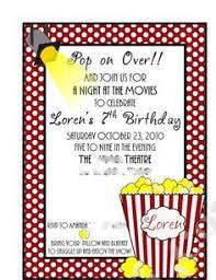 Movie Night Invitation Templates Movie Night Invitation Template Free Template Of Business Resume