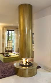 round fireplace DYO12