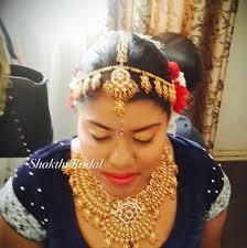 indian bridal hair makeup