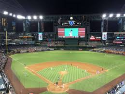 Chase Field Seating Chart Infield Reserve Chase Field Section 315 Home Of Arizona Diamondbacks
