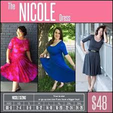 Lularoe Size Chart How To Read The Lularoe Nicole Size Chart Fashion Sky