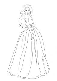 Download Coloring Pages. Barbie Coloring Pages Free: Barbie ...