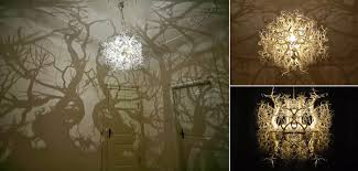 the light sculpture forms in nature