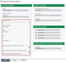 Medicare Online Account Help Update Your Personal
