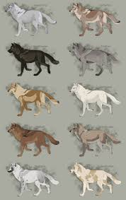 Realistic Wolf Designs Semi Realistic Wolf Adopts Set 21 Open By Skythearts