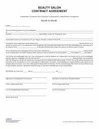 Salon Application Template Hair Stylist Contract Agreement 23 Images Of Hair Salon Job