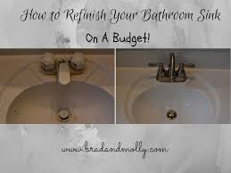 refinishing a bathroom sink not with haste