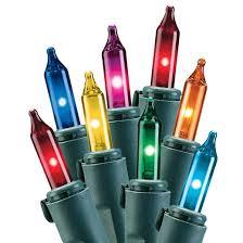 Philips 100ct Multicolored Mini String Lights
