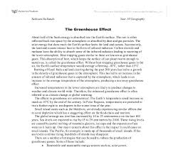 the greenhouse effect gcse science marked by teachers com document image preview