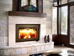 rsf focus 320 zero clearance wood burning fireplace image
