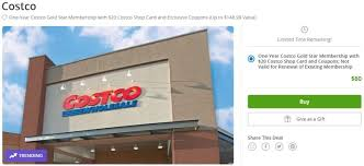 Chart House Gift Card Costco Expired Groupon Get New Costco Membership 20 Gift Card