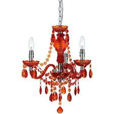 fulton 3 light orange mini chandelier