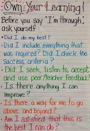 best ideas about student self evaluation student fieldcrest grade eight own your learning student check in before saying i