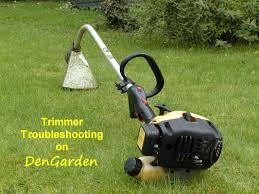 strimmer won t work 2 stroke engine