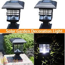 Solar Garden Post Lights U2013 ExhortmeSolar Garden Post Lights