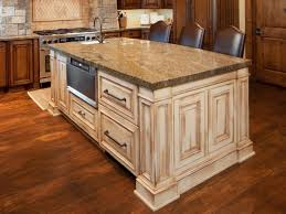 beautiful kitchen island table granite top white varnished wood antique kitchen cabinet beige granite countertops texture
