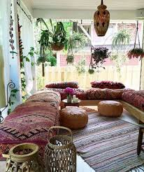 bohemian style living room. Amazing Bohemian Style Living Room Decor Ideas (18)