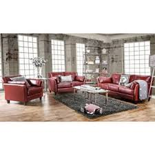 contemporary living room furniture sets. Furniture Of America Pierson Double Stitched Leatherette 3-piece Set Contemporary Living Room Sets T