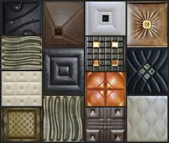 A12003 - Faux Leather Wall Panel (1 Piece)