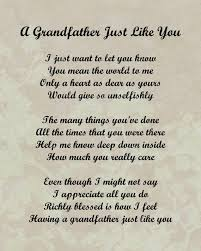 Grandfather Quotes 4 Wonderful Grandfather Granddaughter Poems