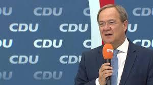 Tanit koch, inset with angela merkel, aims to help armin laschet succeed her. Bundestagswahl Merz Warnt Vor Rot Gruner Mehrheit Im Bundestag Welt