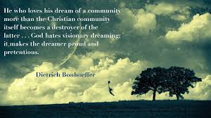 Christian Community Quotes Best of Dietrich Bonhoeffer Quote Life Together Christian Community 24
