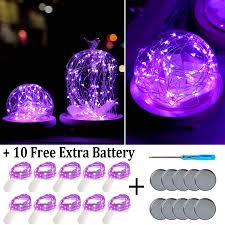 Led Lights For Centerpieces Fainyearn Battery Operated Fairy Lights 10 Pack Christmas Lights Battery Powered Led Lights For Centerpieces Home Garden Patio Holidays