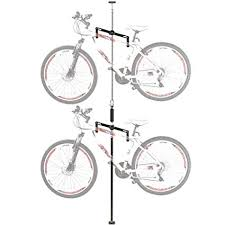 Bike hanger for apartment Ceiling Image Unavailable Globalwealthsystemsinfo Amazoncom Double Vertical Bicycle Storage Hanger Rack For Garages