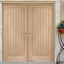 exterior double doors. Solid Exterior Double Doors Suffolk Oak Door And