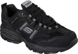 skechers shoes for men black. skechers vigor 2.0 trait cross training shoe shoes for men black e
