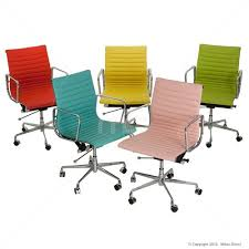 coloured office chairs. Exellent Office Colourful Desk Chairs Management Office Chair Eames Reproduction Orange 15  Off New Inside Coloured Office Nepean Furniture
