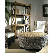 round wicker table coffee with storage concentric marvelous honeymoon s round wicker table