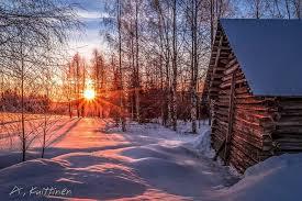 Kuvahaun tulos haulle suomen luonto talvella
