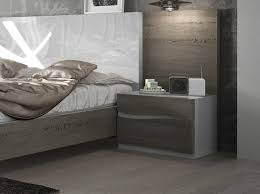 designer bed furniture. modern fenicia 2 drawer bedside cabinet with wave style designer bed furniture