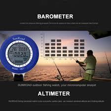 Orion Sunroad Multi Function Mini Lcd Digital Fishing Barometer Altimeter Thermometer