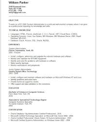 nt unix system administrator resume example free templates nt unix system administrator kronos systems administrator resume
