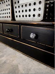 black painted furnitureBlack Furniture Is Both Classy and Sassy