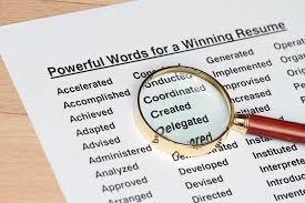 Power Word For Resumes How Many Of These Powerful Verbs Are In Your Resume Adzuna Ca Blog