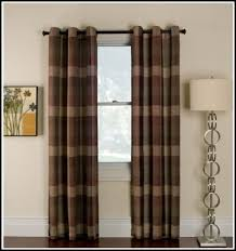 attractive brown and tan curtains and red and brown plaid curtains curtains home design ideas