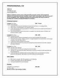 Resumes Etc It Manager Resume Sample Luxury Cv format for Matric Intermediate 1
