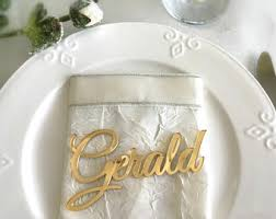 personalized wedding place cards laser cut names wedding Laser Cut Wedding Place Cards laser cut names, wedding place cards, gold mirror plate names, acrylic wedding place black laser cut wedding place cards