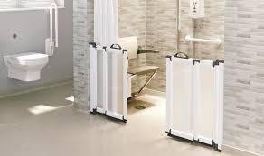 freeglide sliding and bi fold half height carer doors