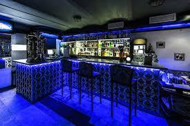 lighting for a bar. Bright Blue Under Bar Lighting For A