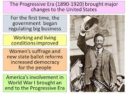 the united states entered the progressive era from to  20 the progressive era