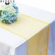 diy table runner no sew inspirational 16cm 275cm organza chair sash sashes bow tulle chair cover
