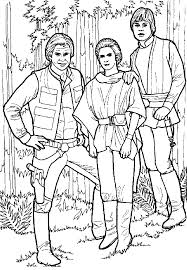 Star Wars Coloring Pages Luke Many Interesting Cliparts