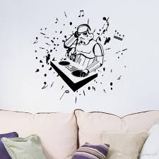 floor new arrival star wars with note wall art mural decor stickerlistening wallpaper decal