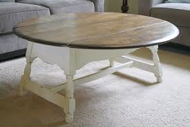 Styling A Round Coffee Table Farmhouse Style Coffee Table
