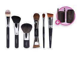 younique face makeup brush set